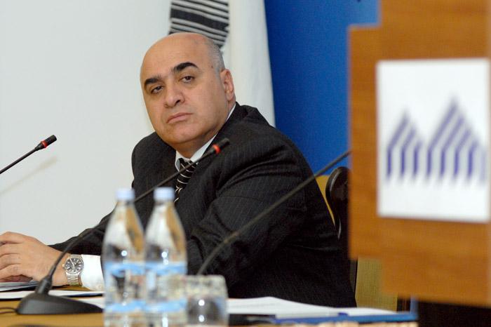 President of UMBA Arsen Ghazaryan
