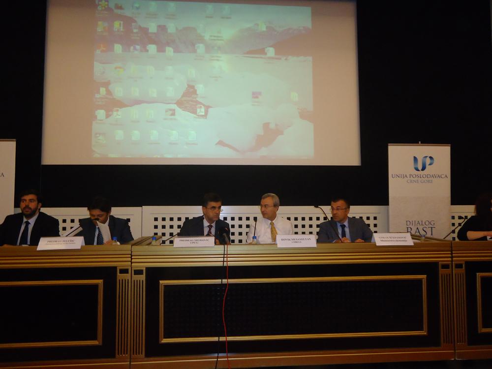 Бизнес форум «Монтенегро-Армения»