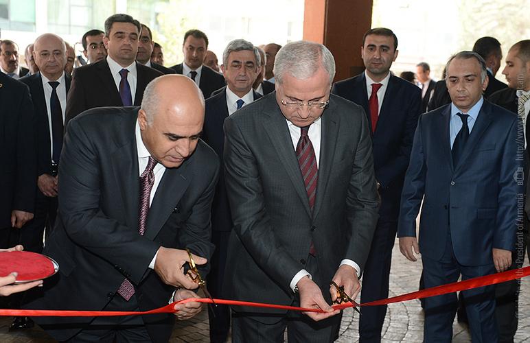 Президент Серж Саргсян присутствовал на открытии выставки «Армпродэкспо»