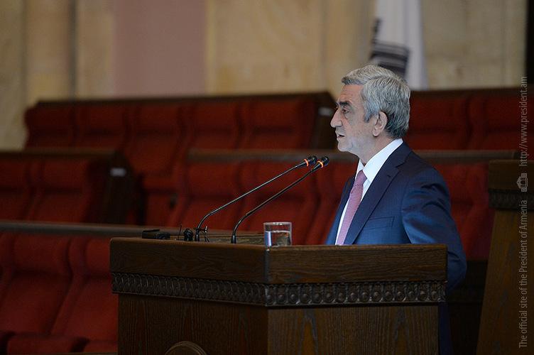 Президент: Прогресс в экономике Армении за 20 лет очевиден