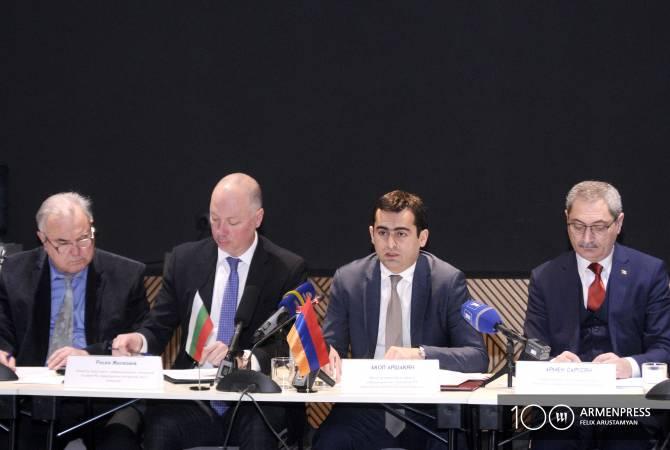 Հայաստանն ու Բուլղարիան ամրապնդում են տնտեսական կապերը. կայացավ միջկառավարական հանձնաժողովի նիստը