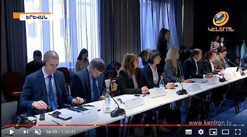 Մարտի 13-ին տեղի ունեցավ Հայ-բուլղարական միջկառավարական հանձնաժողովի ութերորդ նիստը, որին մասնակցում էին ՀԱԳՄ նախագահ Արսեն Ղազարյանը և Գործադիր տնօրեն Էդուարդ Կիրակոսյանը: Դիտել «Կենտրոն» հեռուստատեսությամբ 56 րոպե 3о վայրկյանից: