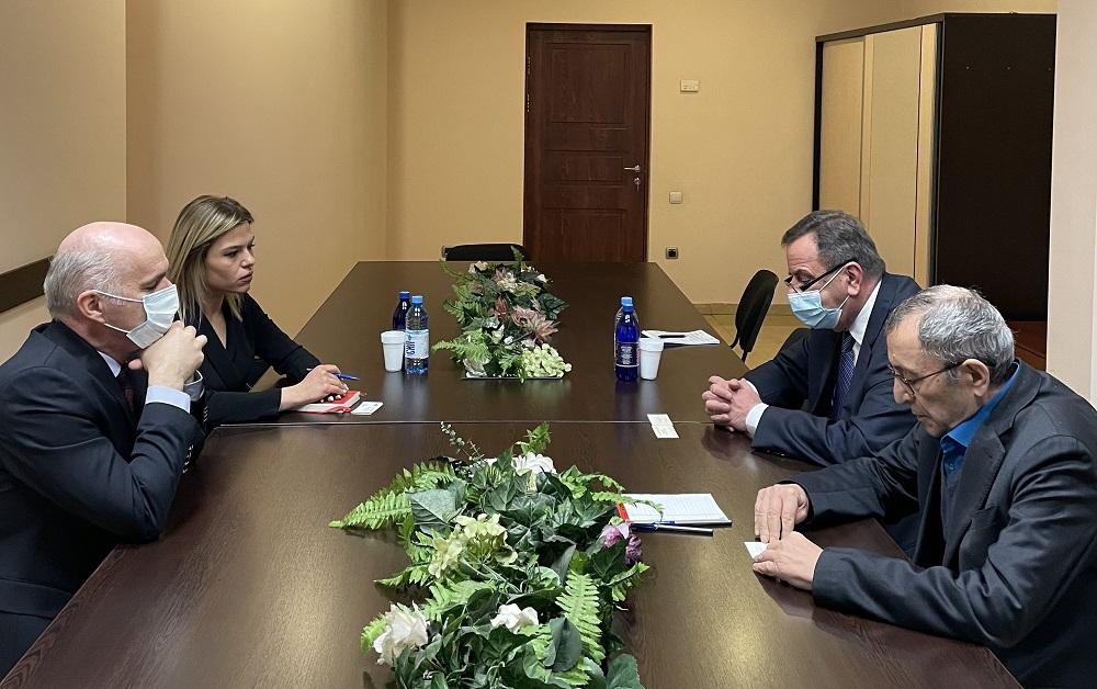 ՀԱԳՄ-ում քննարկվեցին հայ-սլովակյան տնտեսական կապերի խորացման հնարավորությունները