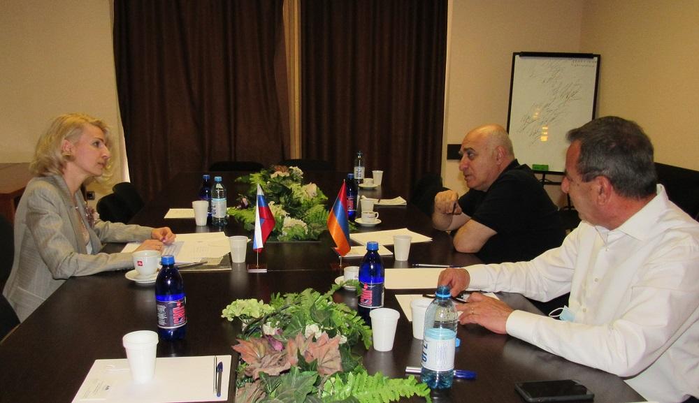 Деловая встреча Торгпреда России в Армении с Союзом промышленников и предпринимателей Армении