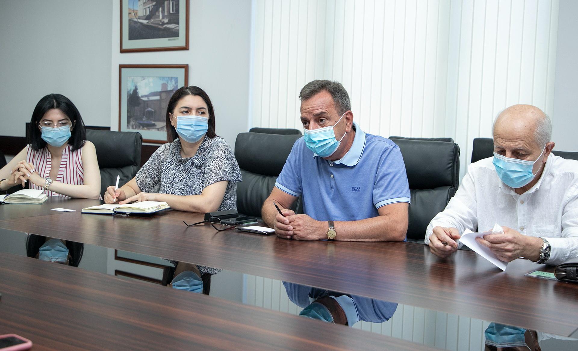 ՀԱԳՄ ներկայացուցիչները քննարկել են առողջապահական ապահովագրության համակարգի ներդրմանն առնչվող հարցեր